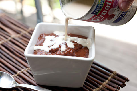 chocolate rice pudding recipe