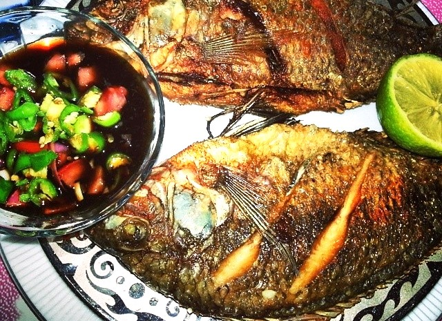 Fried tilapia recipe authentic filipino recipe for Tilapia fish recipes