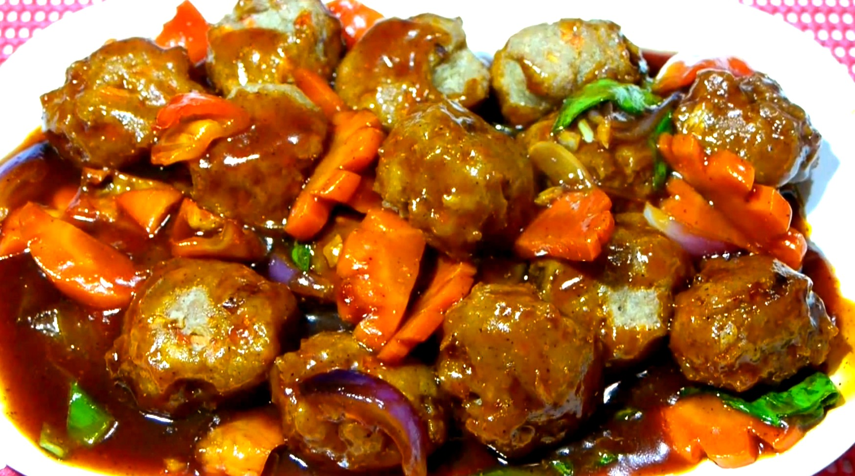 Sweet and Sour Meatballs Recipe - Authentic Filipino Recipes