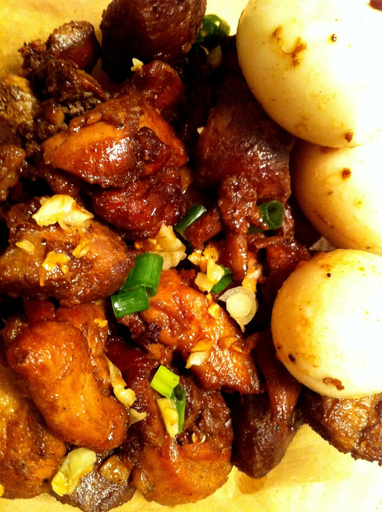 Pork Adobo with Eggs & Potato