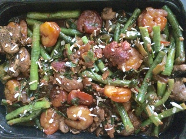 Sauteed Shrimp with String Beans
