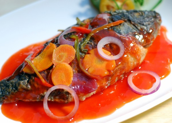 Fish escabeche sweet sour fish authentic filipino for Fish escabeche recipe